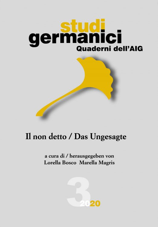 Quaderni dell'AIG – 3 (2020)