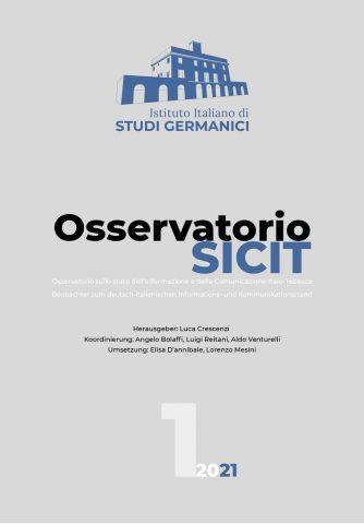 Osservatorio SICIT, n° 1/2021 (Deutsch)