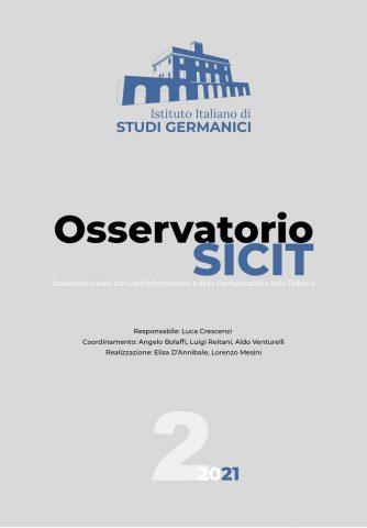 Osservatorio SICIT, n° 2/2021